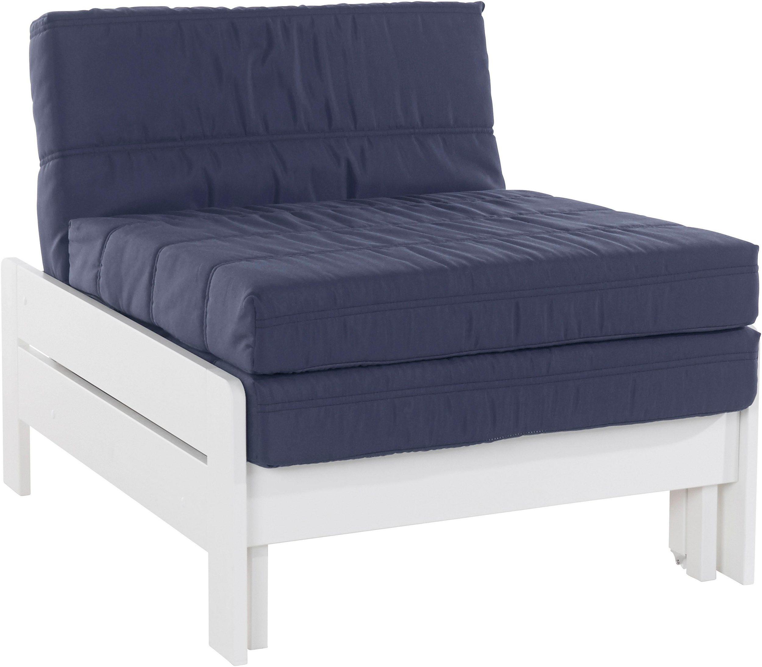 Składane Białe łóżko Bez Materaca 80cm