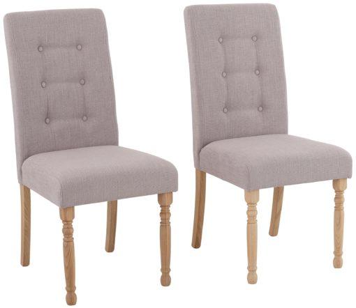 Piękne, eleganckie krzesła tapicerowane - 6 sztuk