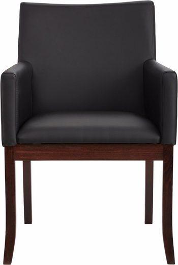 Elegancki, nowoczesny fotel tapicerowany sztuczną skórą
