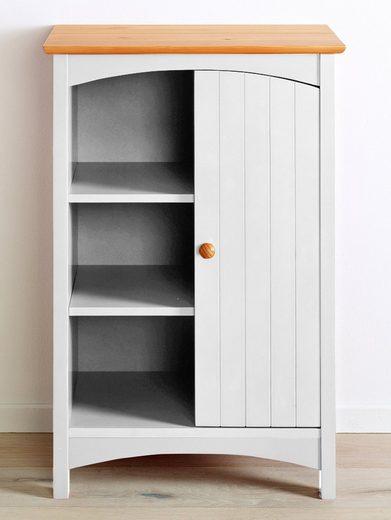 Komoda w stylu retro lakierowana na kolor biały
