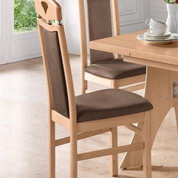 Ponadczasowe, eleganckie krzesła - zestaw 2 sztuki