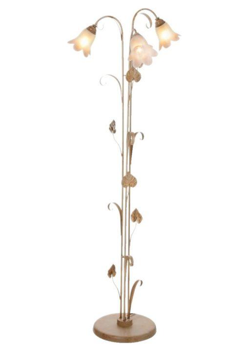 Wysoka lampa podłogowa we florentyńskim stylu