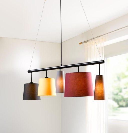 Efektowna, modna lampa sufitowa
