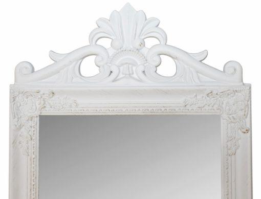 Przepiękna, biała rama do dużego stojącego lustra