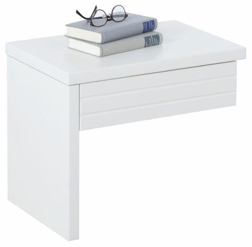 Ekstrawagancka, nowoczesna szafka nocna, drewniana