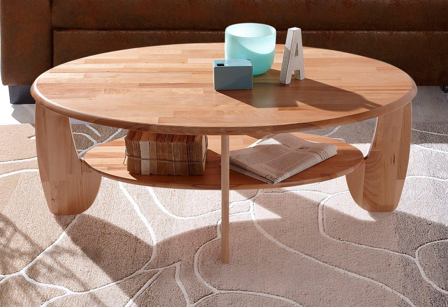 Piękny Stolik Kawowy Do Salonu Z Drewna Bukowego