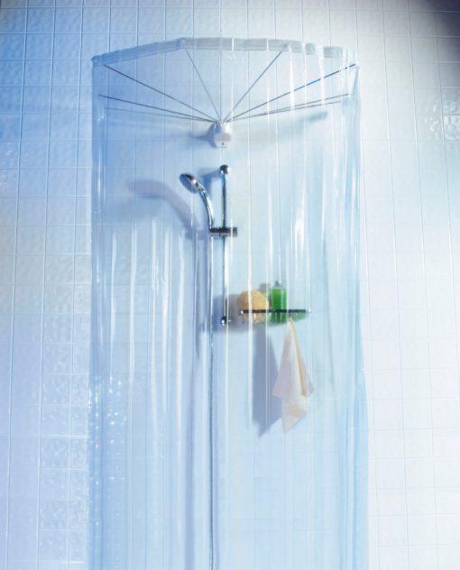 Zasłona prysznicowa do kabiny bądź do wanny