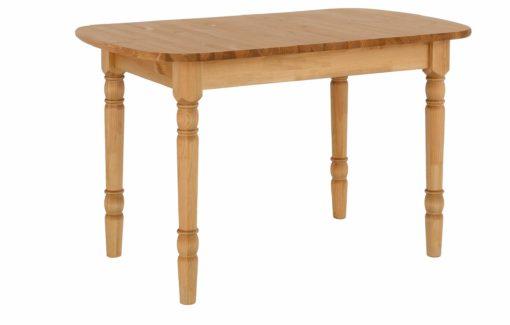 Piękny, sosnowy stół z toczonymi nogami, olejowany