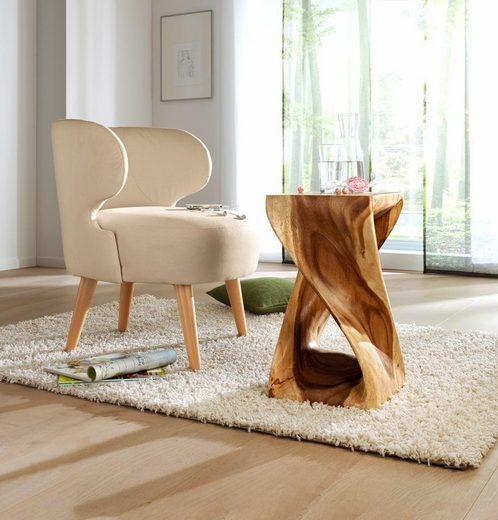 Designerski stolik z litego drewna akacjowego, HIT!