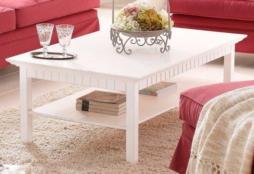 Wszechstronny stolik kawowy z litego drewna sosnowego