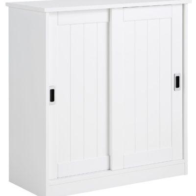 Przepiękna, funkcjonalna komoda w kolorze białym