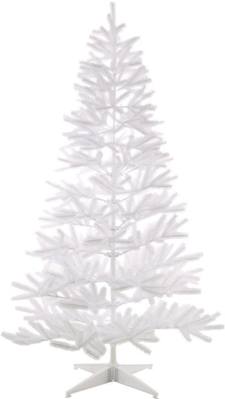 Świąteczna choinka w kolorze białym, 120 cm
