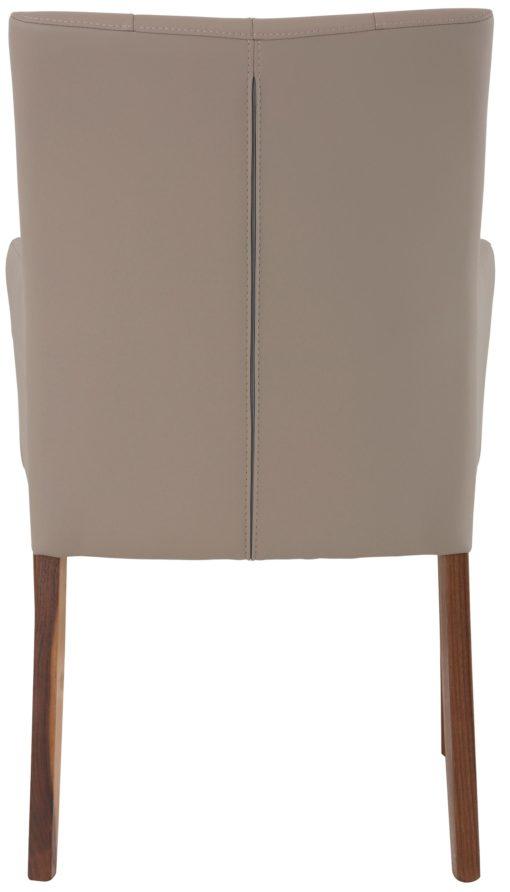 Stylowy i elegancki fotel tapicerowany sztuczną skórą