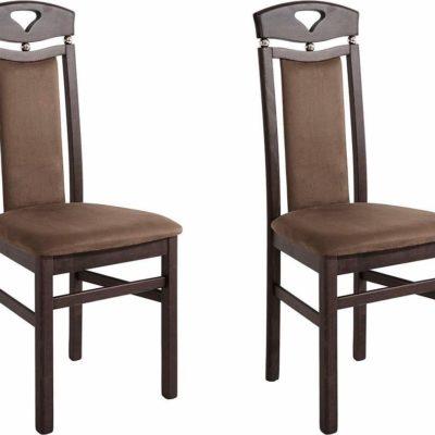 Eleganckie, klasyczne krzesła 2 sztuki.