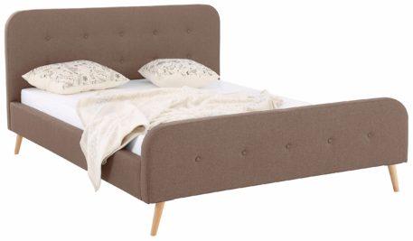 Nowoczesna rama łóżka tapicerowanego 140x200