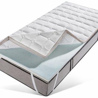 Komfortowy materac piankowy, nawierzchniowy 180x200 cm