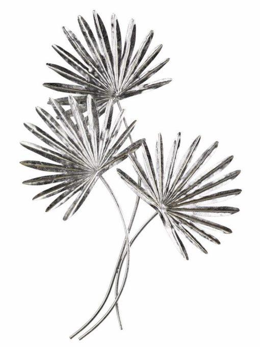 Dekoracja ścienna w kształcie liści palmowych