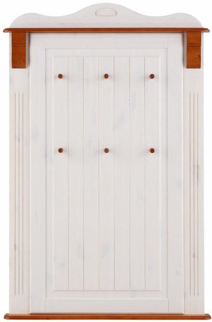 Drewniany panel ścienny w stylu rustykalnym