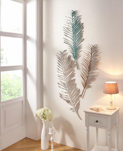 Niezwykła dekoracja ścienna w kształcie liści