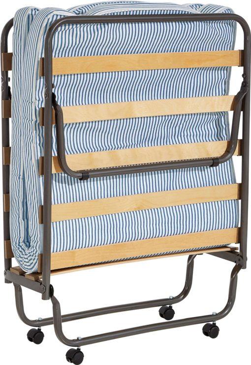 Składane łóżko polowe z materacem