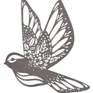Dekoracja ścienna w kształcie ptaka