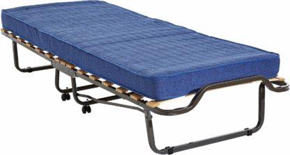 Składane łóżko polowe z materacem 80x200 cm