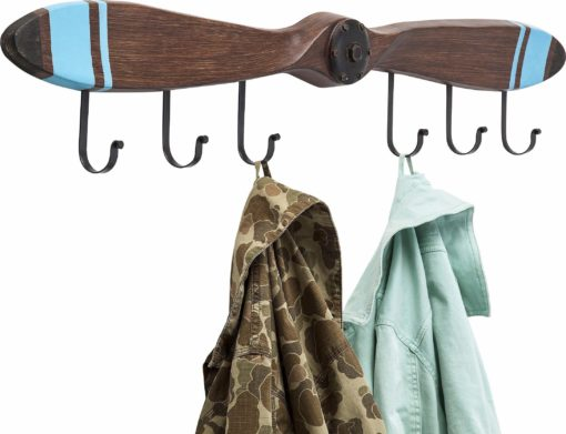 Wieszak na ubrania o konstrukcji śmigła