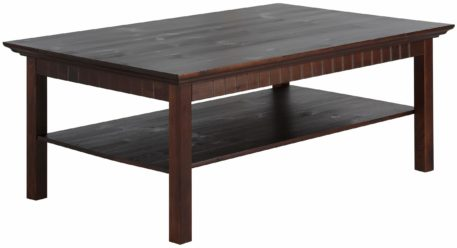 Stolik do salonu, lite drewno sosnowe, kolor kolonialny