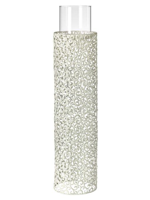 Dekoracyjny, duży świecznik podłogowy