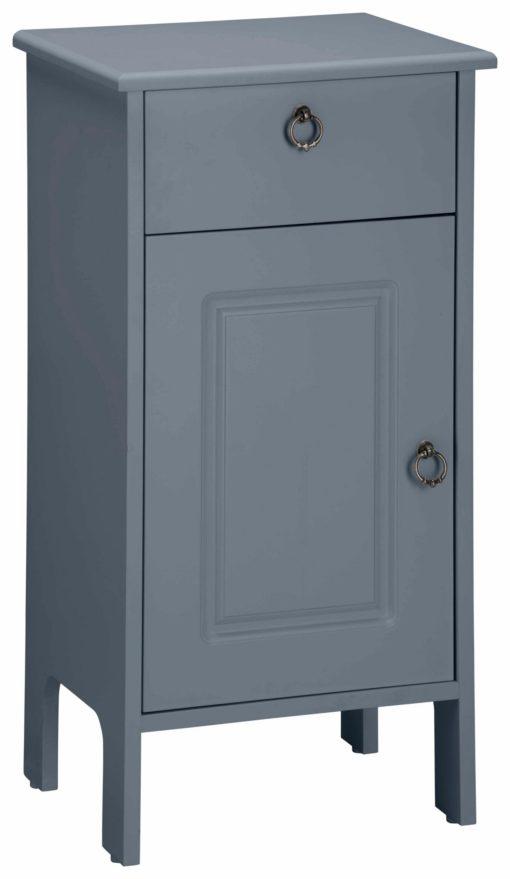 Stylowa szafka stojąca w kolorze szarym