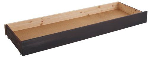Szuflada pod łóżko w kolorze kolonialnym, na kółkach