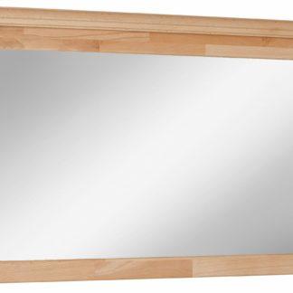 Proste, szykowne lustro, rama bukowa