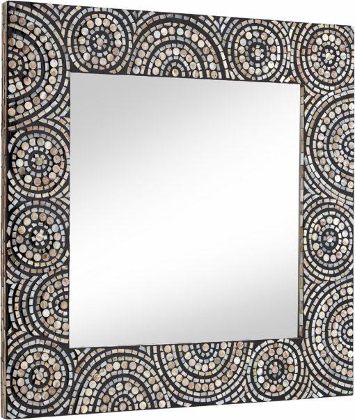 Eleganckie lustro z orientalnym motywem mozaiki