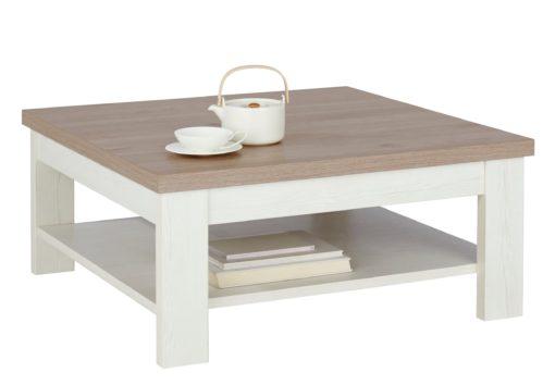Nowoczesny, kwadratowy stolik kawowy Pino Aurelio