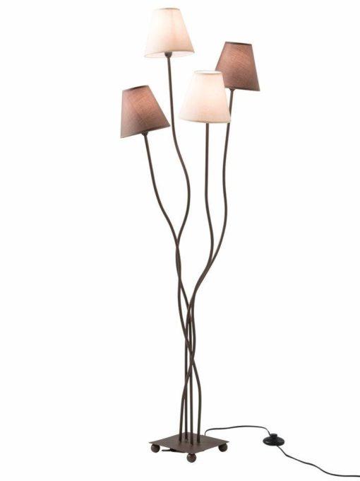 Duża, ekstrawgancka lampa podłogowa