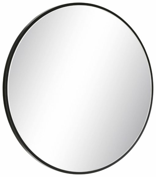 Stylowe, okrągłe lustro ścienne
