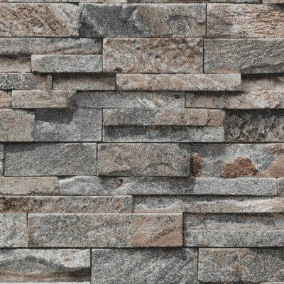 Tapeta na ścianę ze wzorem kamienia 5,32m2