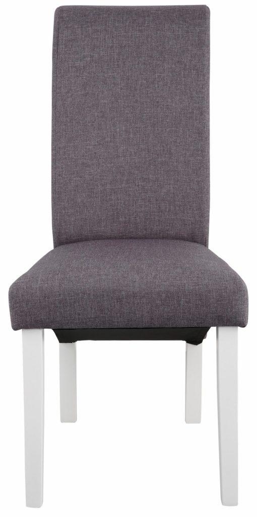 Zestaw nowoczesnych, tapicerowanych krzeseł - 4 sztuki