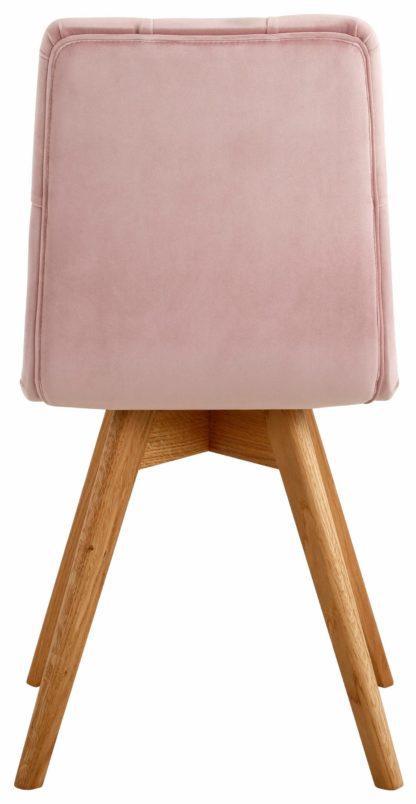 Zestaw dwóch nowoczesnych krzeseł z pięknym tapicerowaniem