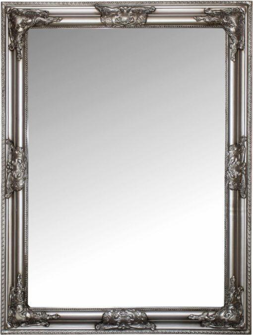 Imponujące lustro z piękną, barokową ramą
