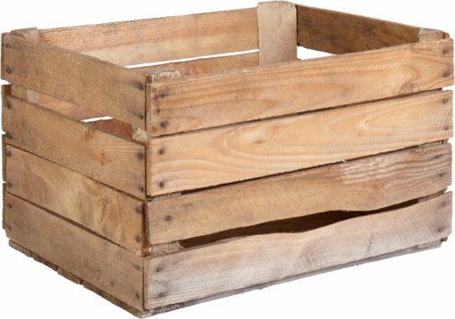 Ozdobna skrzynka wykonana z drewna sosnowego