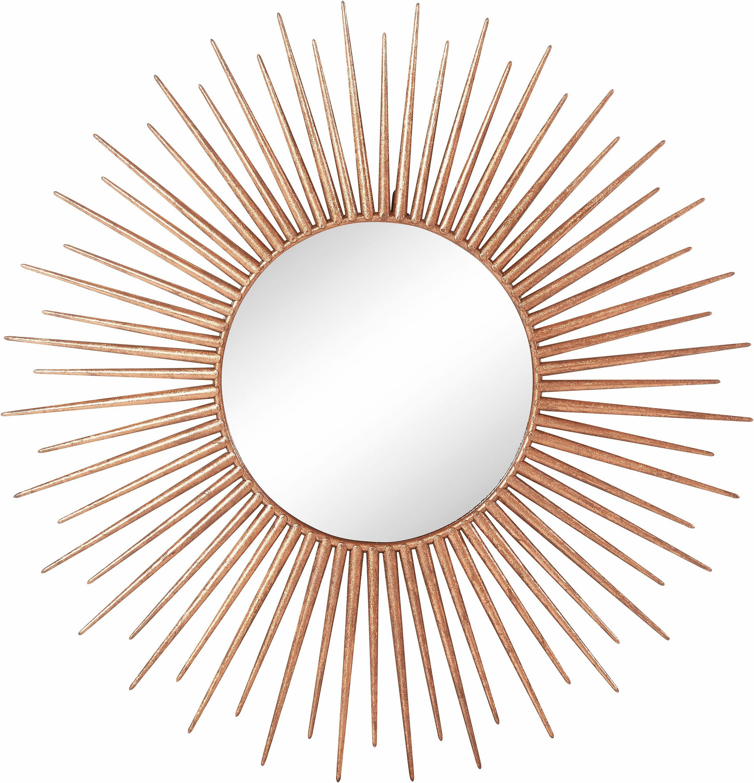 Góra Nowoczesne, dekoracyjne, złote lustro - Moders TL52