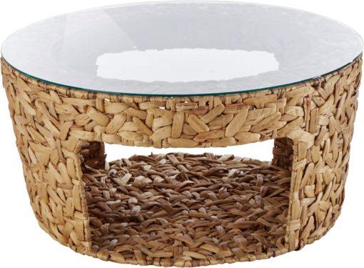 Niesamowity stolik kawowy z hiacyntu wodnego