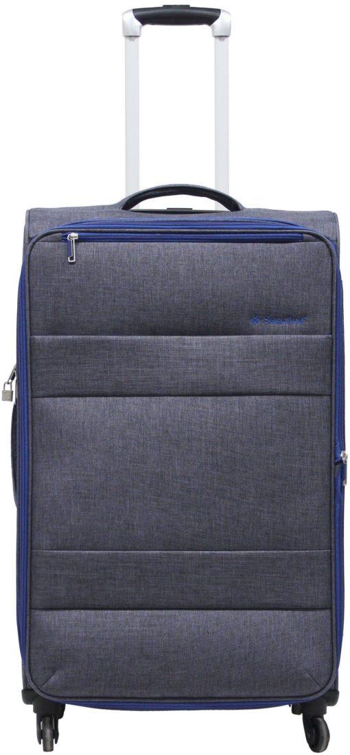Miękka walizka na czterech kółkach Saxoline