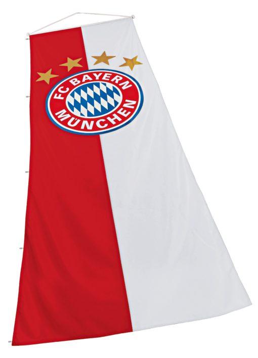 Duża flaga Bayernu Monachium dla kibiców
