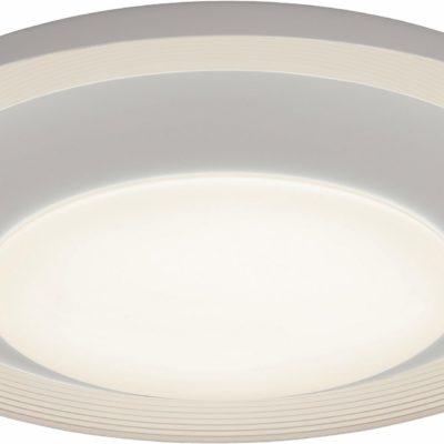Nowoczesna lampa sufitowa ze zintegrowanymi żarówkami LED