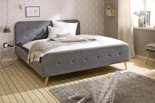 Atrakcyjne łóżko tapicerowane 180x200 cm