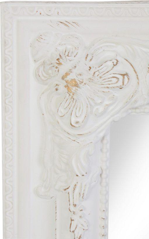 Imponujące lustro z rzeźbioną, barokową ramą