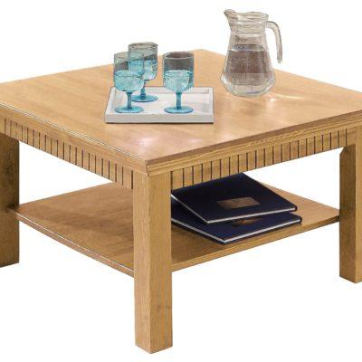 Praktyczny stolik kawowy, sosna olejowana