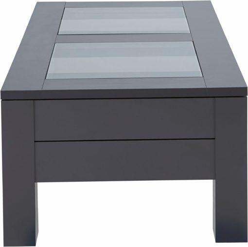 Funkcjonalny stolik kawowy z dwiema szufladami